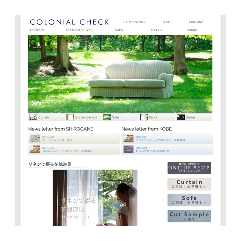 COLONIAL CHECK