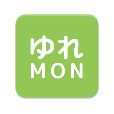 ゆれMON [ロゴ]
